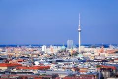 Горизонт Берлина Стоковые Изображения RF