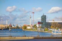 Горизонт Берлина Стоковая Фотография