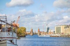 Горизонт Берлина Стоковые Изображения