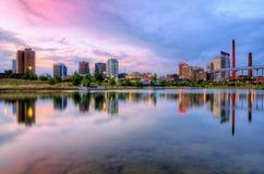 Горизонт Бирмингам, Алабамы Стоковая Фотография
