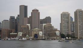 Горизонт Бостона Стоковая Фотография