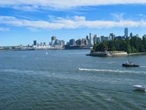 Горизонт Ванкувера Стоковые Фотографии RF