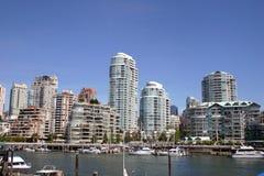 Горизонт Ванкувера Стоковое Изображение