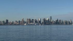 Горизонт Ванкувер, Британская Колумбия, Канада видеоматериал