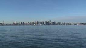 Горизонт Ванкувер, Канада сток-видео