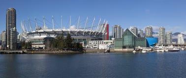 Горизонт Ванкувер Стоковое Изображение
