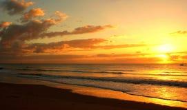 Горизонт восхода солнца Стоковое Изображение