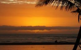 Горизонт восхода солнца Стоковые Изображения RF