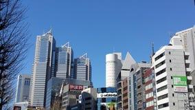 Горизонт в Shinjuku - токио Стоковое Фото