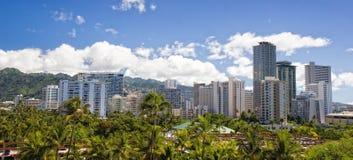 горизонт Гавайских островов Стоковые Фотографии RF