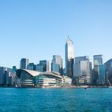 Горизонт Гонконга стоковые изображения rf