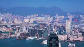 Горизонт Гонконга видеоматериал