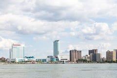 Горизонт города Виндзора Канады Стоковое фото RF