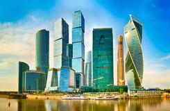 Горизонт города Москвы Стоковое фото RF