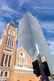 горизонт города самомоднейший урбанский Стоковое фото RF