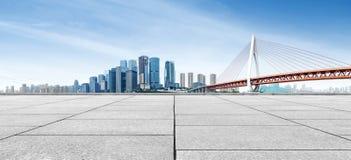 горизонт города самомоднейший Стоковые Изображения RF