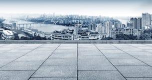 горизонт города самомоднейший Стоковая Фотография