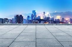 горизонт города самомоднейший Стоковые Фотографии RF