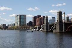 горизонт города boston Стоковое Изображение RF