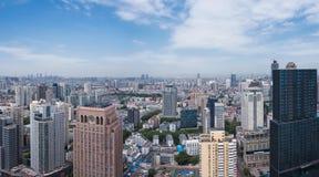 Горизонт города Нанкина Стоковое Изображение RF