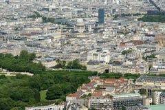 Горизонт города на дневном времени. Париж, Франция Стоковые Изображения