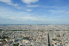 Горизонт города на дневном времени. Париж, Франция Стоковое фото RF