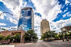 Горизонт города Остина Техаса и улицы города Стоковая Фотография