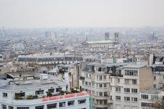 Горизонт города Париж Стоковые Изображения RF