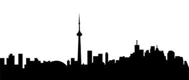 Горизонт города Торонто Стоковое Фото