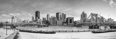 Горизонт городского Питтсбурга стоковое фото