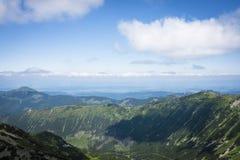 Горизонт гор Стоковое Фото