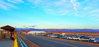 Горизонт гранд-каньона Стоковые Фотографии RF