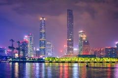 Горизонт Гуанчжоу фарфор guangzhou стоковые изображения