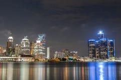 Горизонт Детройта Стоковое Фото