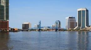 Горизонт Джексонвилл Флорида Стоковые Изображения RF