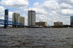 Горизонт Джексонвилл Флорида Стоковая Фотография