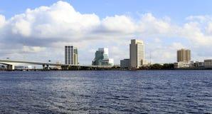 Горизонт Джексонвилл Флорида Стоковое Изображение