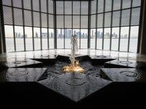 Горизонт Дохи от музея исламского искусства Стоковые Изображения RF