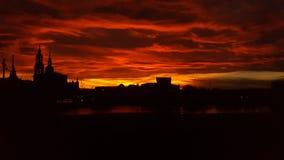 Горизонт Дрезден Стоковые Изображения