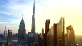 Горизонт Дубай городской видеоматериал