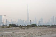 горизонт Дубай Стоковая Фотография