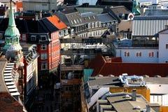 Горизонт европейца Копенгагена Стоковое Фото