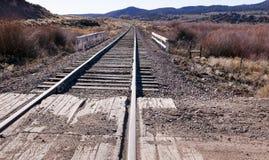 Горизонт 1 железнодорожного пути Стоковые Изображения