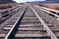 Горизонт 2 железнодорожного пути Стоковые Изображения RF