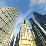 горизонт зданий Стоковые Фото