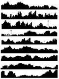 горизонт иллюстрации города Стоковые Изображения RF