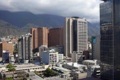 Горизонт и здания Каракаса стоковое фото