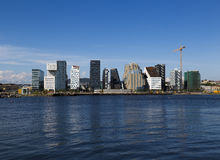Горизонт и конструкция Осло Стоковая Фотография RF