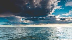 Горизонт и небо моря Seascape Стоковое фото RF
