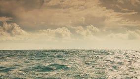 Горизонт и небо моря Seascape Стоковые Изображения